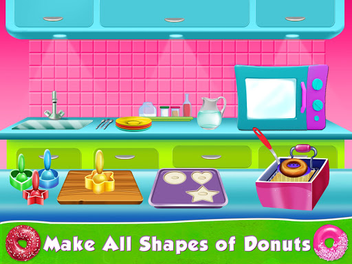 Kids Donut Bakery Food Maker Game 1.0 screenshots 9