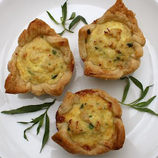 Warm Crab Tartlets
