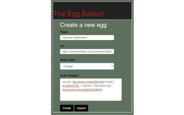 The Egg Basket