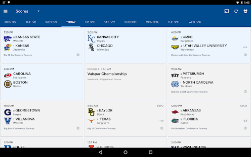 CBS Sports Scores, News, Stats- screenshot thumbnail