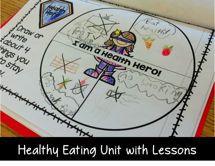 healthy eating lesson plans and rubrics