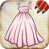 Draw Dress for Dolls Dress Up