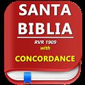Santa Biblia Reina Valera GRATIS  with Concordance icon