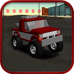 Cartoon Race Car Icon