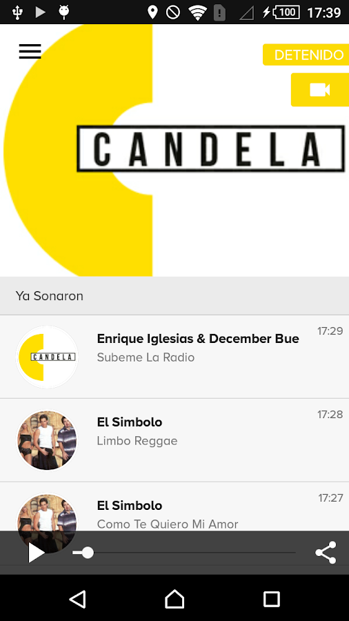Candela 95.3- screenshot