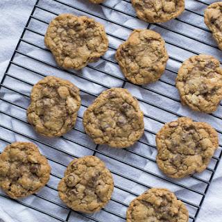 Whole Wheat Chocolate Chip Walnut Cookies