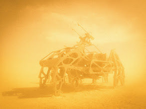 """Photo: *The Imperial Walker at Burning Man*   What would you name this crawler?  This must be in my top five most-awesome-cars in the desert. I guess it doesn't really classify as a """"ca""""r since these six legs crawl across the playa like an insect... from Trey Ratcliff at http://www.StuckInCustoms.com - all images Creative Commons Noncommercial"""