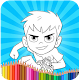 Coloring Pages For Ben Ten Alines