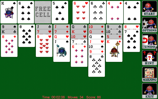Freecell Solitaire (Full) screenshot 2