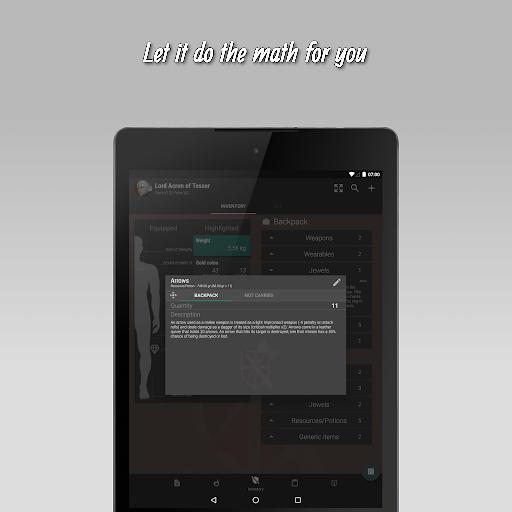 The 20 - RPG Companion App apktram screenshots 15