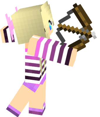 cute girl with cute bow