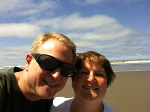 Photo: With Cathy at the beach, 4th of July weekend