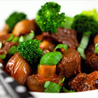 Margaret's Slow Cooker Broccoli and Beef