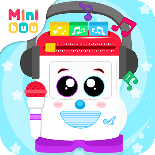 Baby Radio Toy. Kids Game