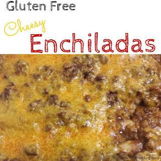 Gluten Free Enchiladas.