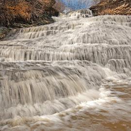 Beamers by Chuck Von Reign - Landscapes Waterscapes ( waterfalls, waterfall, beamers falls )