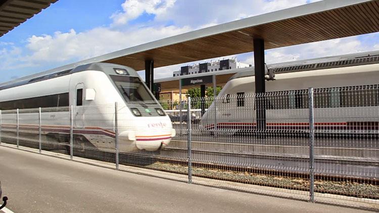 Landaluce pide a Adif que adjudique cuanto antes las obras de renovación de la vía férrea Almoraima- San Pablo