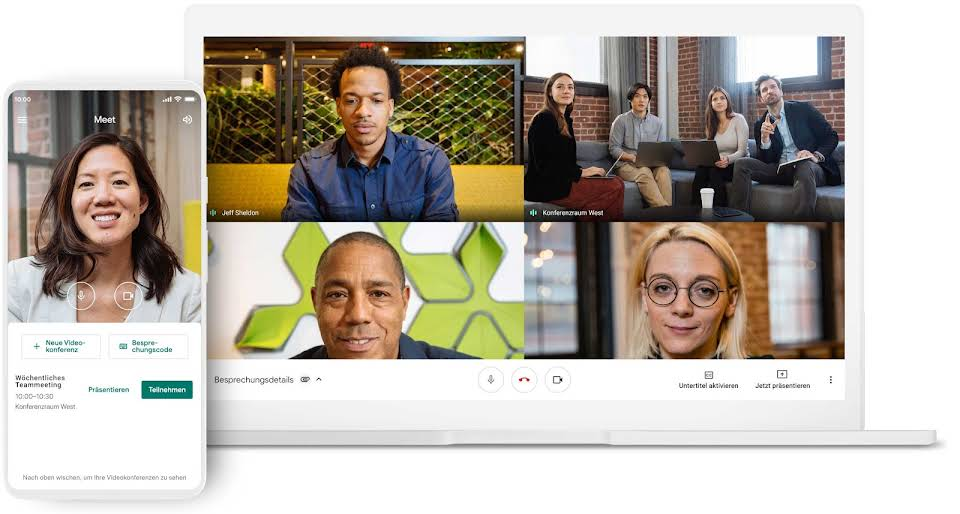 Videokonferenzen auf jedem Gerät
