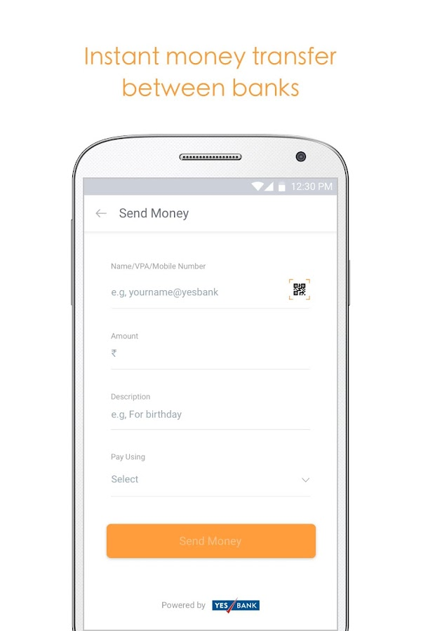 Citrus: Money Transfer via UPI- screenshot