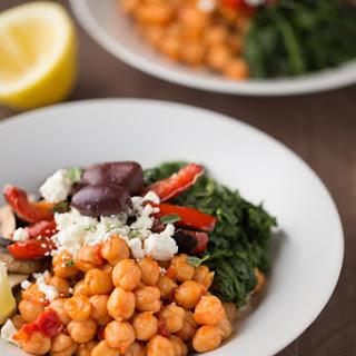 Mediterranean Veggie Rice Bowls.
