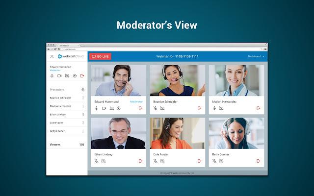 WebcastCloud Screen Share