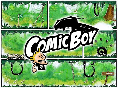 Comic Boy Screenshot