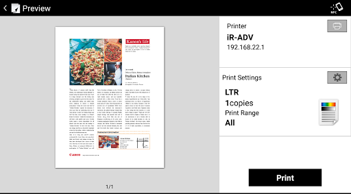 Canon PRINT Business App Downloads