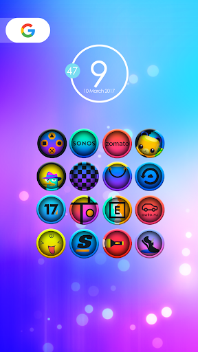 لالروبوت Ravic - Icon Pack تطبيقات screenshot