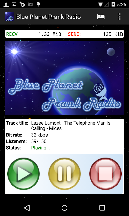 Blue Planet Prank Radio- screenshot