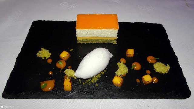 eats at the Widder Hotel in Zurich, Switzerland in Zurich, Zurich, Switzerland