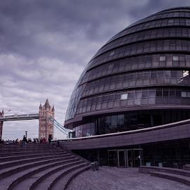 500px Photo ID: 229351633 by Anz Defensor - Buildings & Architecture Public & Historical ( london, city, uk, bridge, structure, tower, architecture )