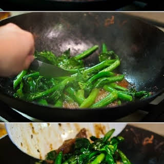 Chinese Broccoli Beef Noodle Stir Fry.