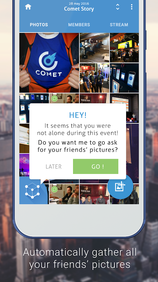 Comet- screenshot