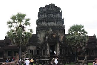 Photo: Year 2 Day 44 - Entrance Tower at Angkor Wat