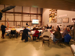 Photo: A rear view of the group during Scott's presentation; we had a good crowd