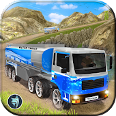 Water Tanker Transport Sim