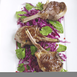 Lamb Chops with Hot and Sour Slaw