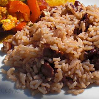 Jamaican Rice & Peas.