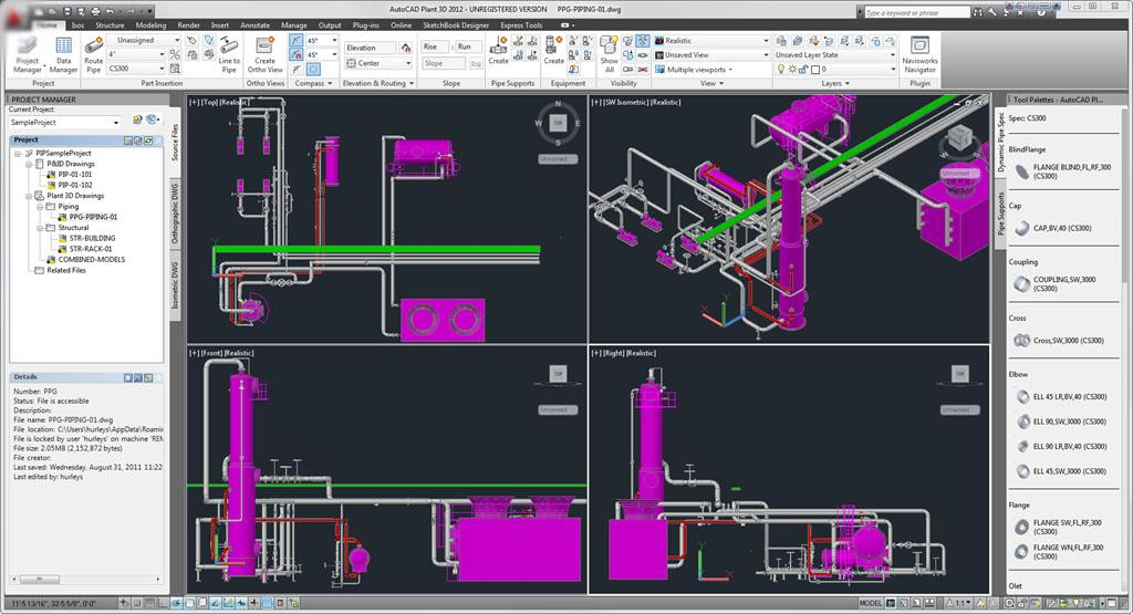 AutoCAD 2010 Reference 2D - 3D- screenshot