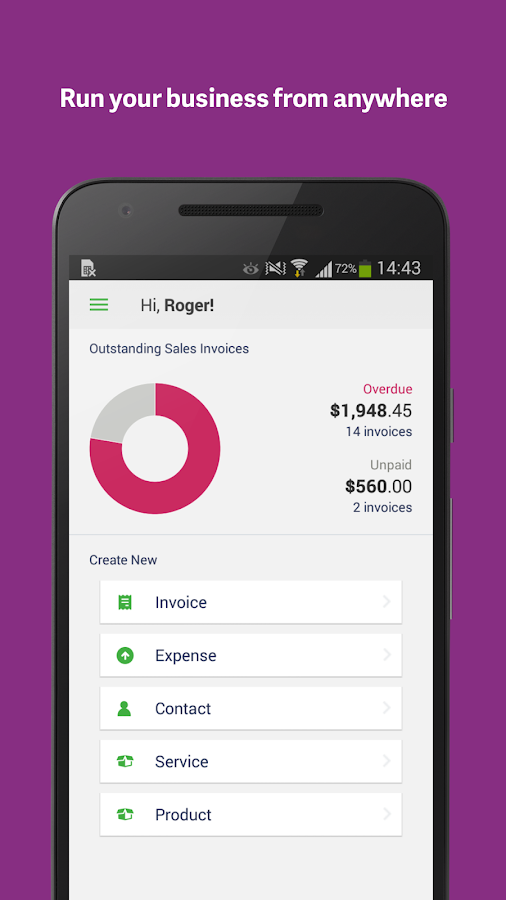 Hand Receipt Excel Sage Invoicing  Android Apps On Google Play Invoice Free Software Download Pdf with Make An Invoice For Free Pdf Sage Invoicing Screenshot Customized Invoice Books
