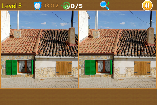 Spot the Differences: Houses