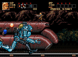 Image result for contra hard corps
