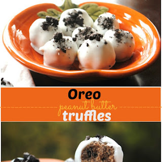 Oreo Peanut Butter Truffles.