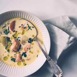 Simple Suppers: Salmon Chowder With Fennel And Corn