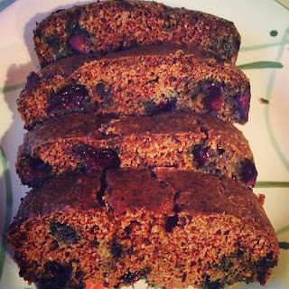 Almond Flour bluberry bread