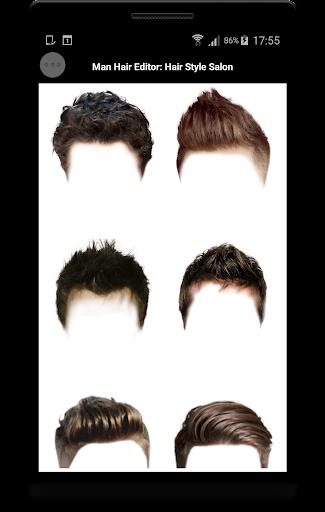 Man Hair Editor : Hair Style Photo Maker  screenshots 2