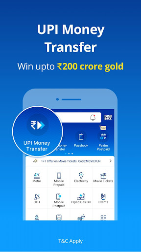 Mobile Recharge, UPI, Bill Payment, Money Transfer screenshot