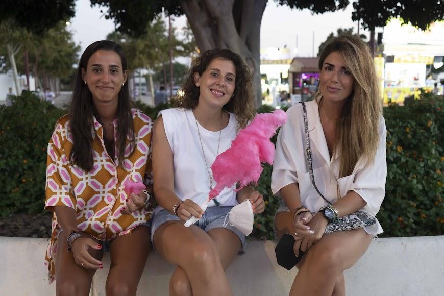 María, Cristina y Ana