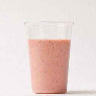 Strawberry-Flax Smoothie.