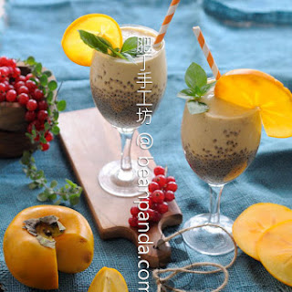 Persimmon Chia Smoothie